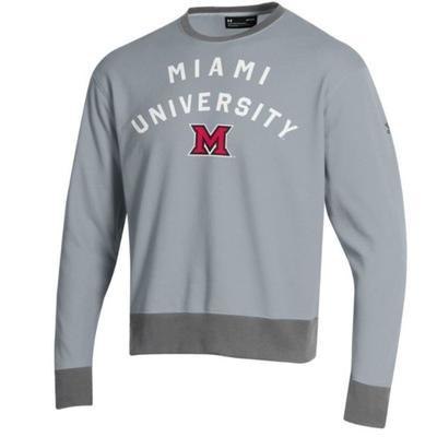 Miami Under Armour Crew Sweatshirt