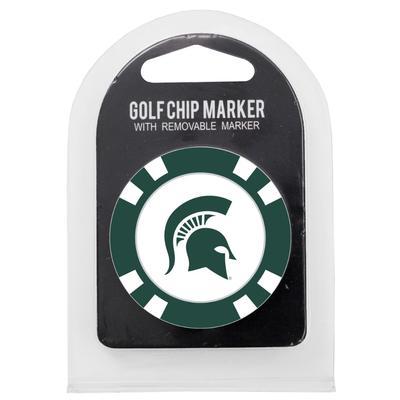 Michigan State Golf Chip Ball Marker
