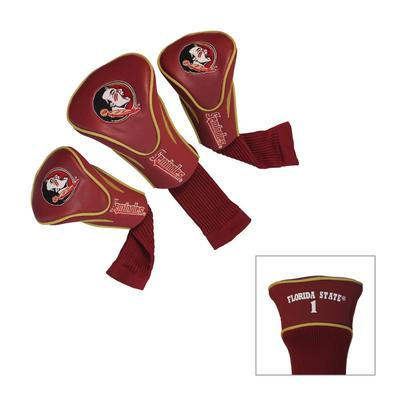 Florida State 3 Pack Contour Golf Club Head Covers
