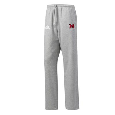Miami Adidas M Logo Fleece Sweatpants