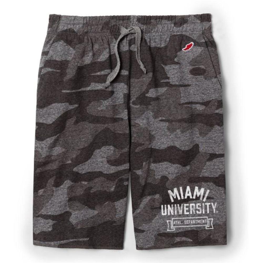 Miami League Camo Shorts