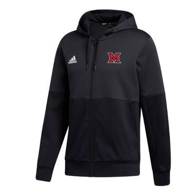 Miami Adidas Team Issue Full Zip Hoodie