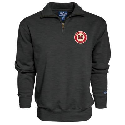 Miami Blue 84 Trip Wire Patch Quarter Zip Sweatshirt