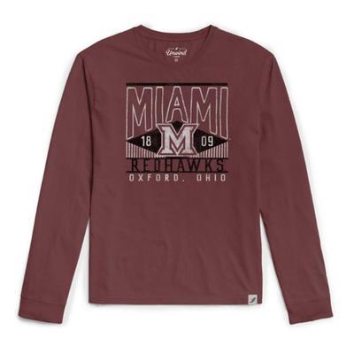 Miami League Tumble Wash Long Sleeve Tee