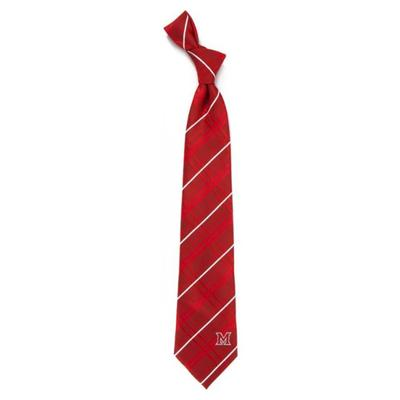Miami Eagle Wings Woven Stripe M Tie