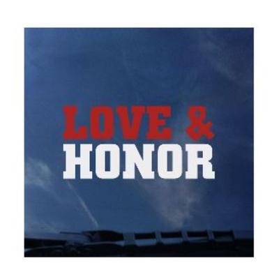 Miami CDI Love and Honor Mini Decal