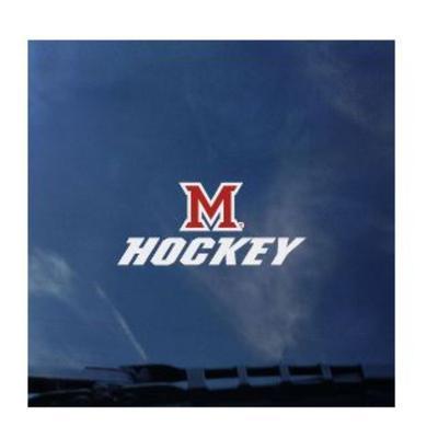 Miami CDI M Over Hockey Mini Decal