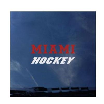 Miami CDI Miami Hockey Mini Decal