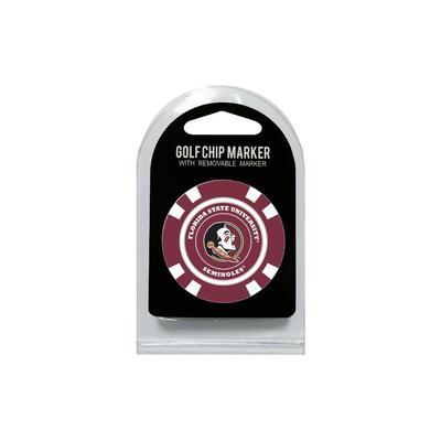 Florida State Golf Chip Ball Marker