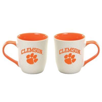 Clemson 16 oz Granite Mug