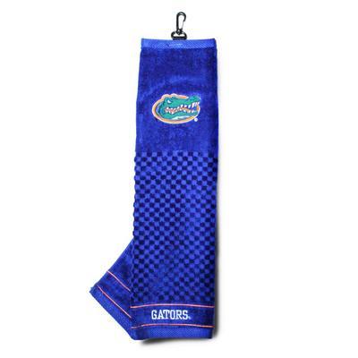 Florida Embroidered Golf Towel