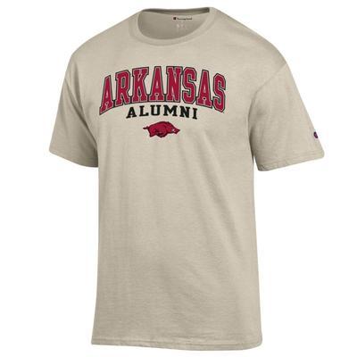 Arkansas Champion Arch Alumni Tee OATMEAL