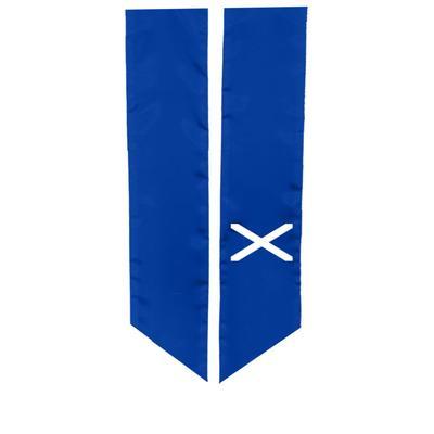 Scotland Cross Study Abroad Graduation Sash