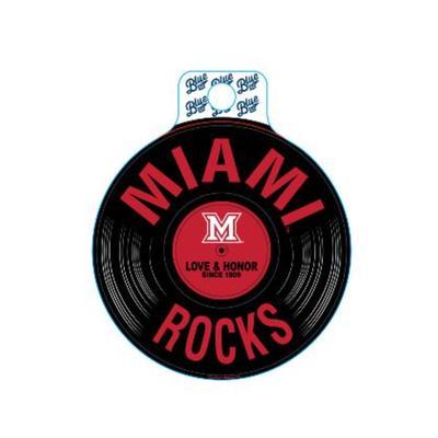 Miami Blue 84 Miami Rocks Decal