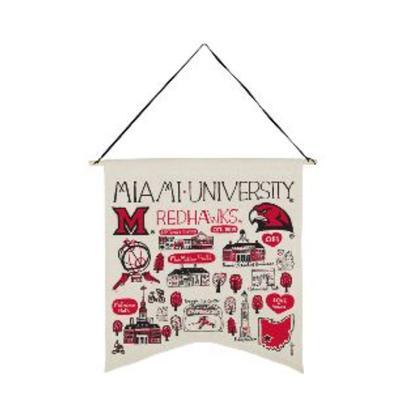 Miami Julia Gash Canvas Banner