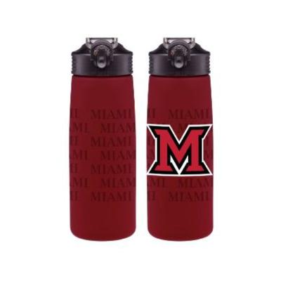 Miami M Logo Water Bottle
