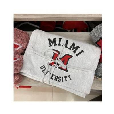 Miami Champion Miami University Blanket