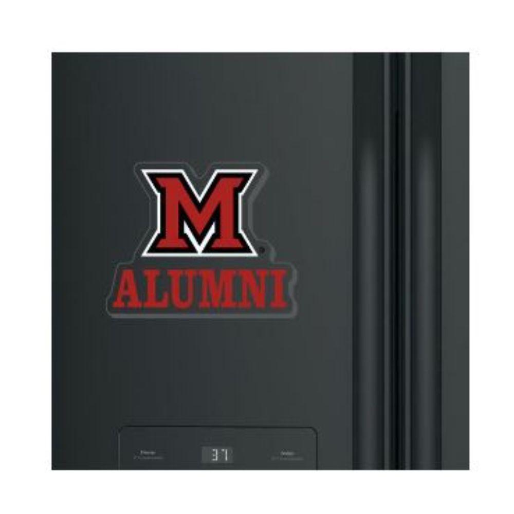Miami M Over Alumni Magnet