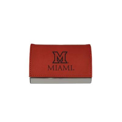Miami LXG Business Card Holder