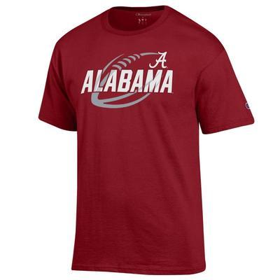 Alabama Champion Men's Football Slant Tee