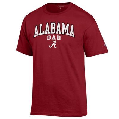 Alabama Champion Arch Dad Tee