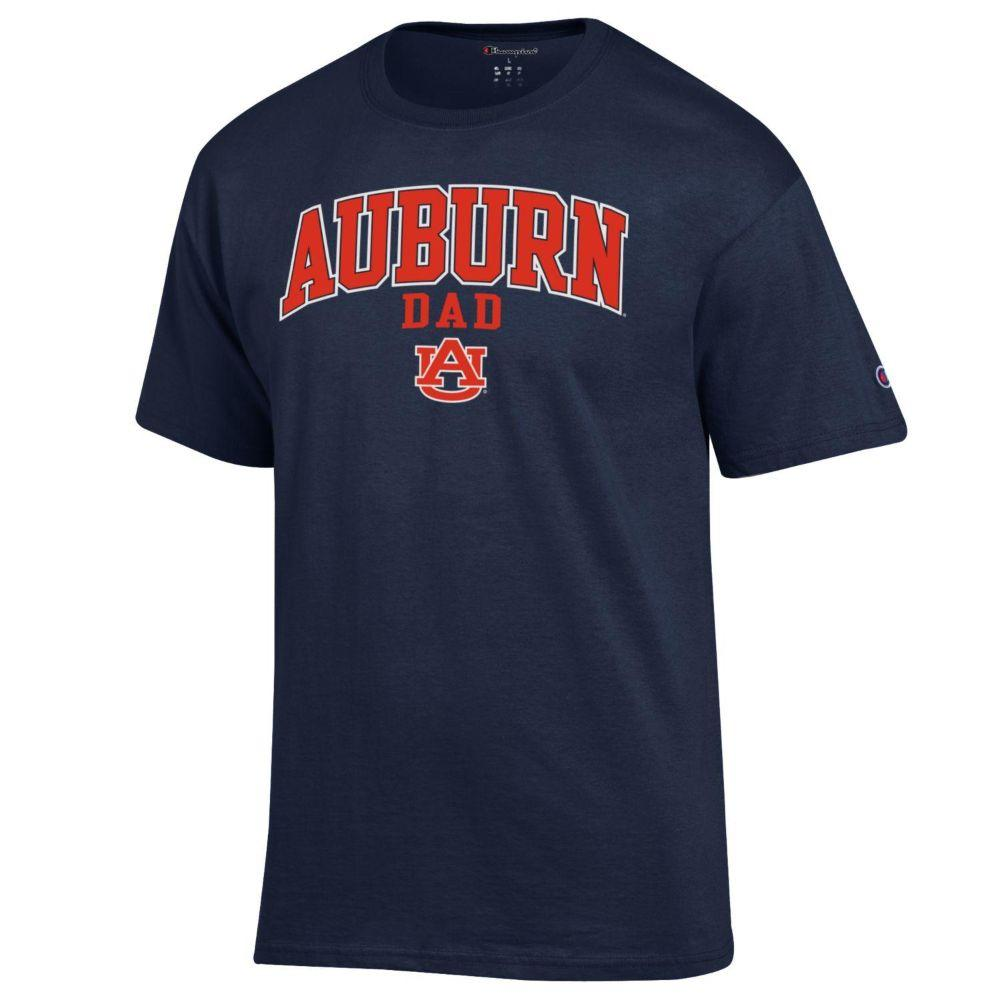 Auburn Champion Arch Dad Tee