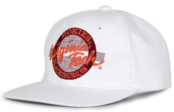 Virginia Tech Retro Circle Adjustable Hat