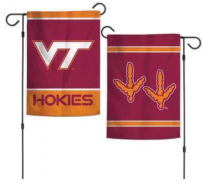 Virginia Tech 2 Sided Garden Flag