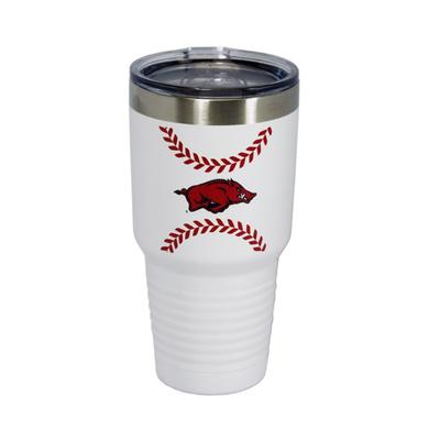 Arkansas Baseball Tumbler