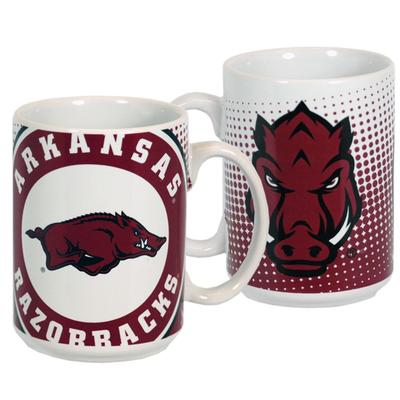 Arkansas Grande Dot Pattern Mug