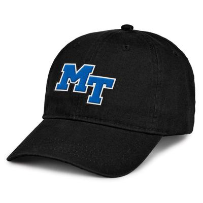 MTSU The Game MT Logo Hat BLACK