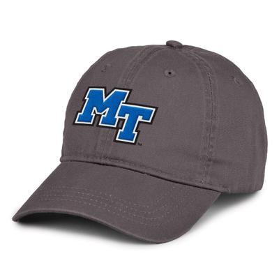 MTSU The Game MT Logo Hat CHARCOAL
