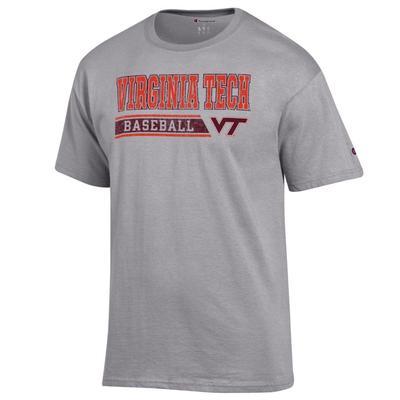 Virginia Tech Champion Men's Baseball Bar Stack Tee