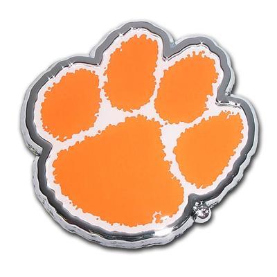 Clemson Orange Paw Emblem