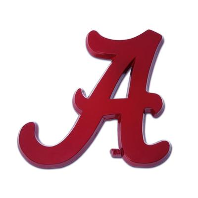Alabama Crimson Script A Emblem