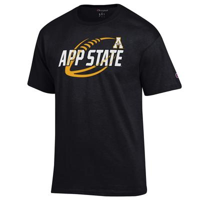 Appalachian State Champion Football Slant Tee