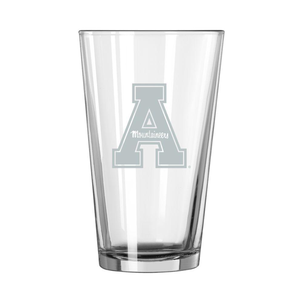 Appalachian State 16 Oz Frost Pint Glass