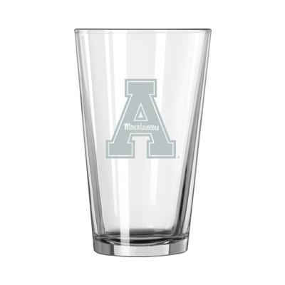 Appalachian State 16 oz Frost Pint Glass