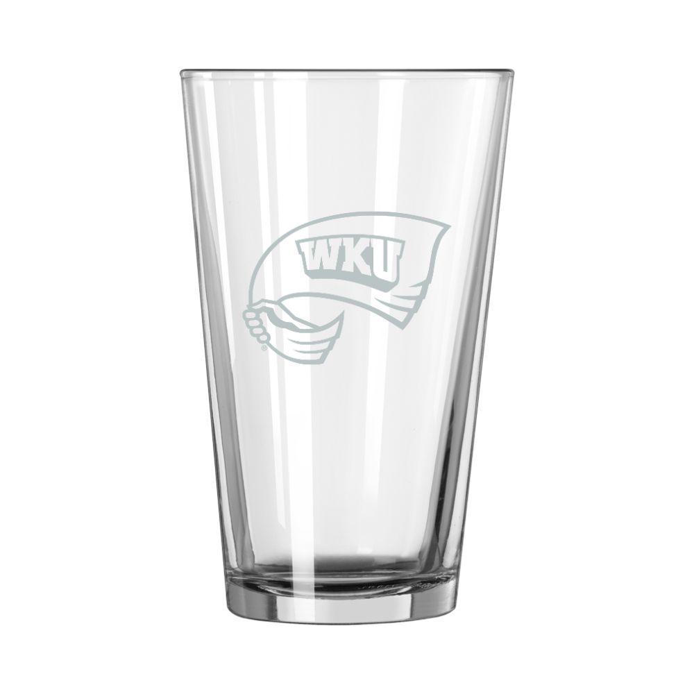 Western Kentucky 16 Oz Frost Pint Glass