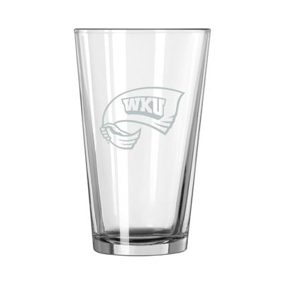 Western Kentucky 16 oz Frost Pint Glass