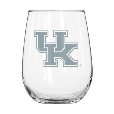 Kentucky Frost Curved Beverage Glass