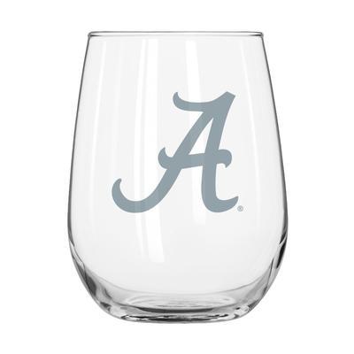 Alabama Frost Curved Beverage Glass