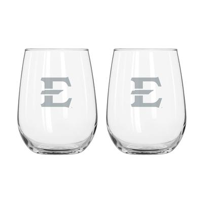 ETSU Frost Curved Beverage Glass