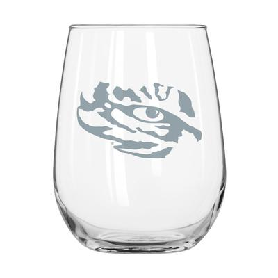 LSU Frost Curved Beverage Glass