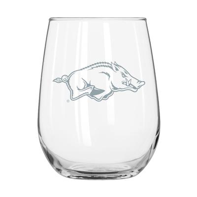 Arkansas Frost Curved Beverage Glass