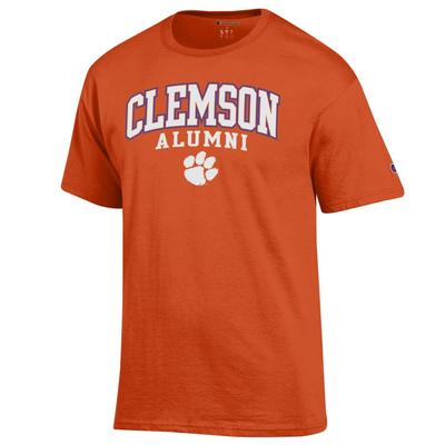 Clemson Champion Arch Alumni Tee ORANGE