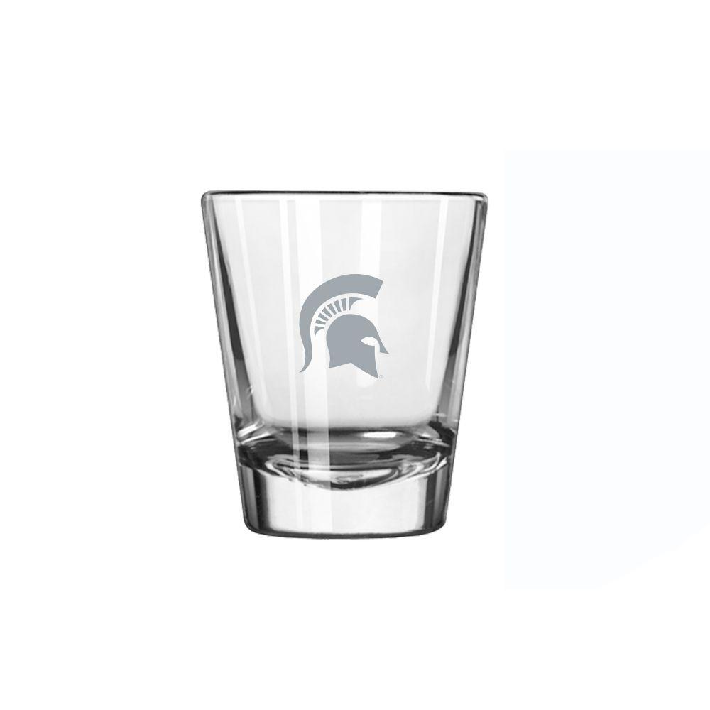 Michigan State 2 Oz Frost Shot Glass