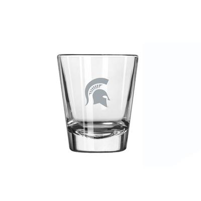 Michigan State 2 oz Frost Shot Glass