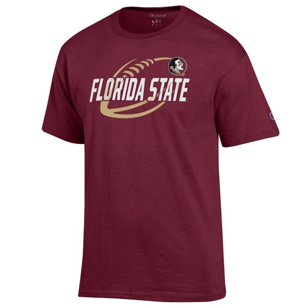 Florida State Champion Football Slant Tee