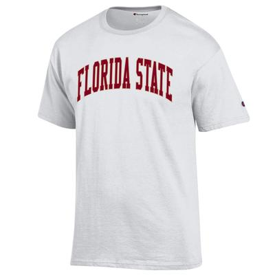 Florida State Champion Arch Tee WHITE